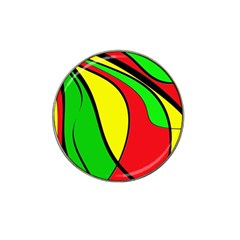 Colors Of Jamaica Hat Clip Ball Marker (4 Pack) by Valentinaart