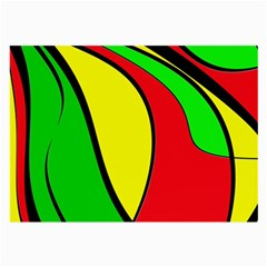Colors Of Jamaica Large Glasses Cloth
