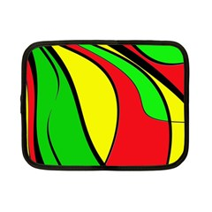 Colors Of Jamaica Netbook Case (small)  by Valentinaart