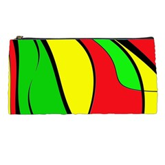 Colors Of Jamaica Pencil Cases by Valentinaart