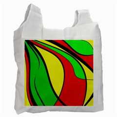 Colors Of Jamaica Recycle Bag (two Side)  by Valentinaart