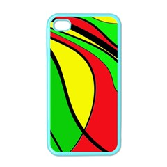 Colors Of Jamaica Apple Iphone 4 Case (color) by Valentinaart