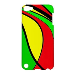 Colors Of Jamaica Apple Ipod Touch 5 Hardshell Case by Valentinaart