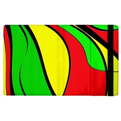Colors Of Jamaica Apple Ipad 2 Flip Case by Valentinaart