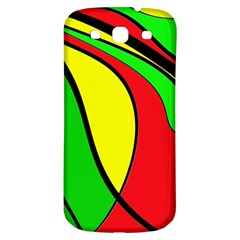 Colors Of Jamaica Samsung Galaxy S3 S Iii Classic Hardshell Back Case by Valentinaart