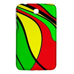 Colors Of Jamaica Samsung Galaxy Tab 3 (7 ) P3200 Hardshell Case  by Valentinaart