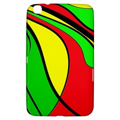 Colors Of Jamaica Samsung Galaxy Tab 3 (8 ) T3100 Hardshell Case  by Valentinaart