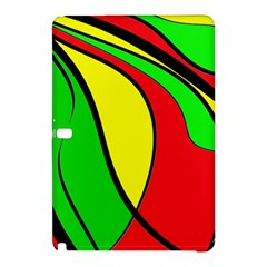 Colors Of Jamaica Samsung Galaxy Tab Pro 12 2 Hardshell Case by Valentinaart