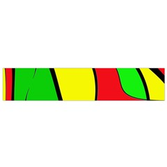 Colors Of Jamaica Flano Scarf (small) by Valentinaart