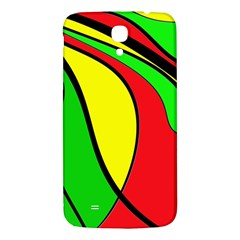 Colors Of Jamaica Samsung Galaxy Mega I9200 Hardshell Back Case by Valentinaart