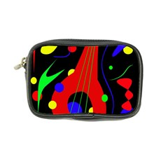 Abstract Guitar  Coin Purse by Valentinaart