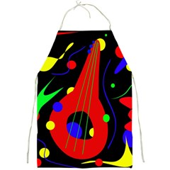 Abstract Guitar  Full Print Aprons by Valentinaart