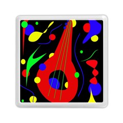 Abstract Guitar  Memory Card Reader (square)  by Valentinaart