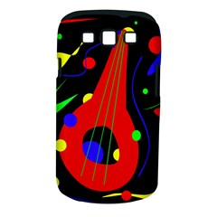 Abstract Guitar  Samsung Galaxy S Iii Classic Hardshell Case (pc+silicone) by Valentinaart