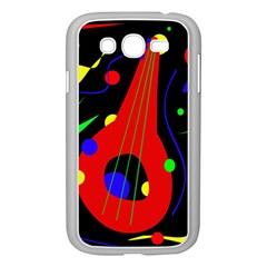 Abstract Guitar  Samsung Galaxy Grand Duos I9082 Case (white) by Valentinaart