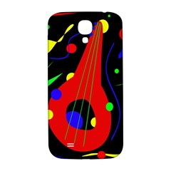 Abstract Guitar  Samsung Galaxy S4 I9500/i9505  Hardshell Back Case by Valentinaart