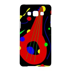 Abstract Guitar  Samsung Galaxy A5 Hardshell Case  by Valentinaart