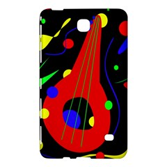 Abstract Guitar  Samsung Galaxy Tab 4 (7 ) Hardshell Case  by Valentinaart