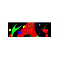 Abstract Guitar  Satin Scarf (oblong) by Valentinaart