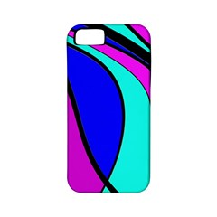 Purple And Blue Apple Iphone 5 Classic Hardshell Case (pc+silicone) by Valentinaart