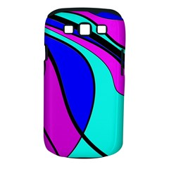 Purple And Blue Samsung Galaxy S Iii Classic Hardshell Case (pc+silicone) by Valentinaart