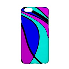 Purple And Blue Apple Iphone 6/6s Hardshell Case by Valentinaart