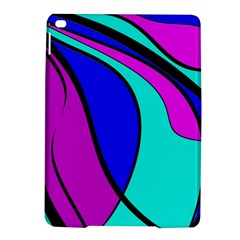 Purple And Blue Ipad Air 2 Hardshell Cases by Valentinaart
