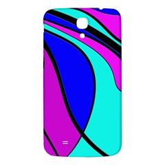 Purple And Blue Samsung Galaxy Mega I9200 Hardshell Back Case by Valentinaart