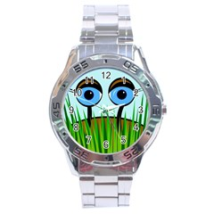 Snail Stainless Steel Analogue Watch by Valentinaart