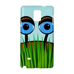 Snail Samsung Galaxy Note 4 Hardshell Case by Valentinaart