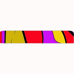 Colorful Lines Small Bar Mats by Valentinaart
