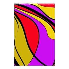 Colorful Lines Shower Curtain 48  X 72  (small)  by Valentinaart