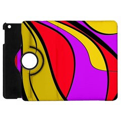 Colorful Lines Apple Ipad Mini Flip 360 Case by Valentinaart