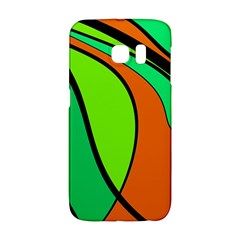 Green And Orange Galaxy S6 Edge by Valentinaart