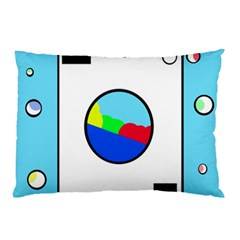 Washing Machine  Pillow Case by Valentinaart