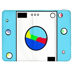 Washing Machine  Samsung Galaxy Tab 7  P1000 Flip Case by Valentinaart