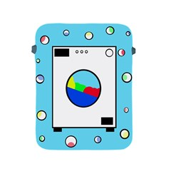 Washing Machine  Apple Ipad 2/3/4 Protective Soft Cases by Valentinaart