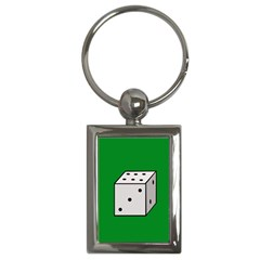 Dice  Key Chains (rectangle)  by Valentinaart