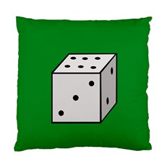 Dice  Standard Cushion Case (one Side) by Valentinaart