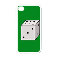 Dice  Apple Iphone 4 Case (white) by Valentinaart