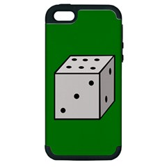 Dice  Apple Iphone 5 Hardshell Case (pc+silicone) by Valentinaart