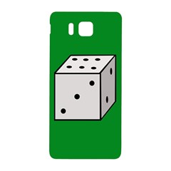 Dice  Samsung Galaxy Alpha Hardshell Back Case by Valentinaart