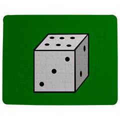 Dice  Jigsaw Puzzle Photo Stand (rectangular) by Valentinaart