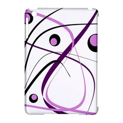 Pink Elegant Design Apple Ipad Mini Hardshell Case (compatible With Smart Cover) by Valentinaart