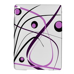 Pink Elegant Design Ipad Air 2 Hardshell Cases by Valentinaart