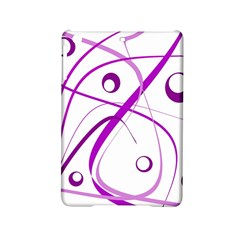 Purple Elegant Design Ipad Mini 2 Hardshell Cases by Valentinaart
