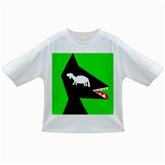 Wolf And Sheep Infant/toddler T-shirts by Valentinaart