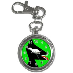 Wolf And Sheep Key Chain Watches by Valentinaart