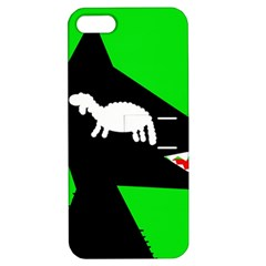 Wolf And Sheep Apple Iphone 5 Hardshell Case With Stand by Valentinaart
