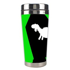 Wolf And Sheep Stainless Steel Travel Tumblers by Valentinaart